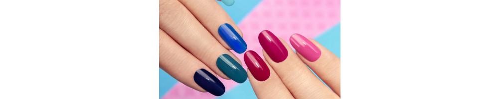 Esmaltes y productos para uñas